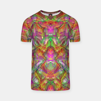 Miniatur Abstract Psychedelic T-shirt, Live Heroes