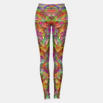 Miniatur Abstract Psychedelic Leggings, Live Heroes