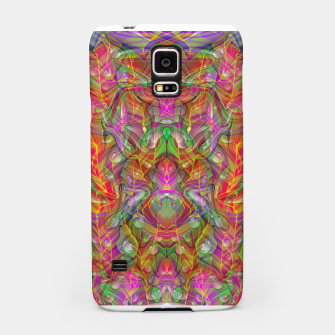 Miniatur Abstract Psychedelic Samsung Case, Live Heroes