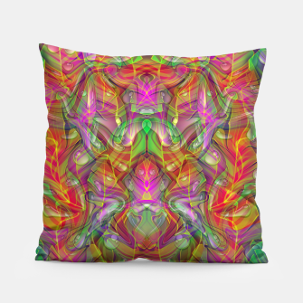 Miniatur Abstract Psychedelic Pillow, Live Heroes