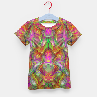 Thumbnail image of Abstract Psychedelic Kid's t-shirt, Live Heroes
