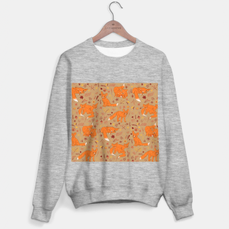 Animals - Cute Foxes Sweater regular Bild der Miniatur