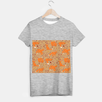 Animals - Cute Foxes T-shirt regular Bild der Miniatur