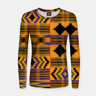 KENTE PATTERN 8 Women sweater Bild der Miniatur