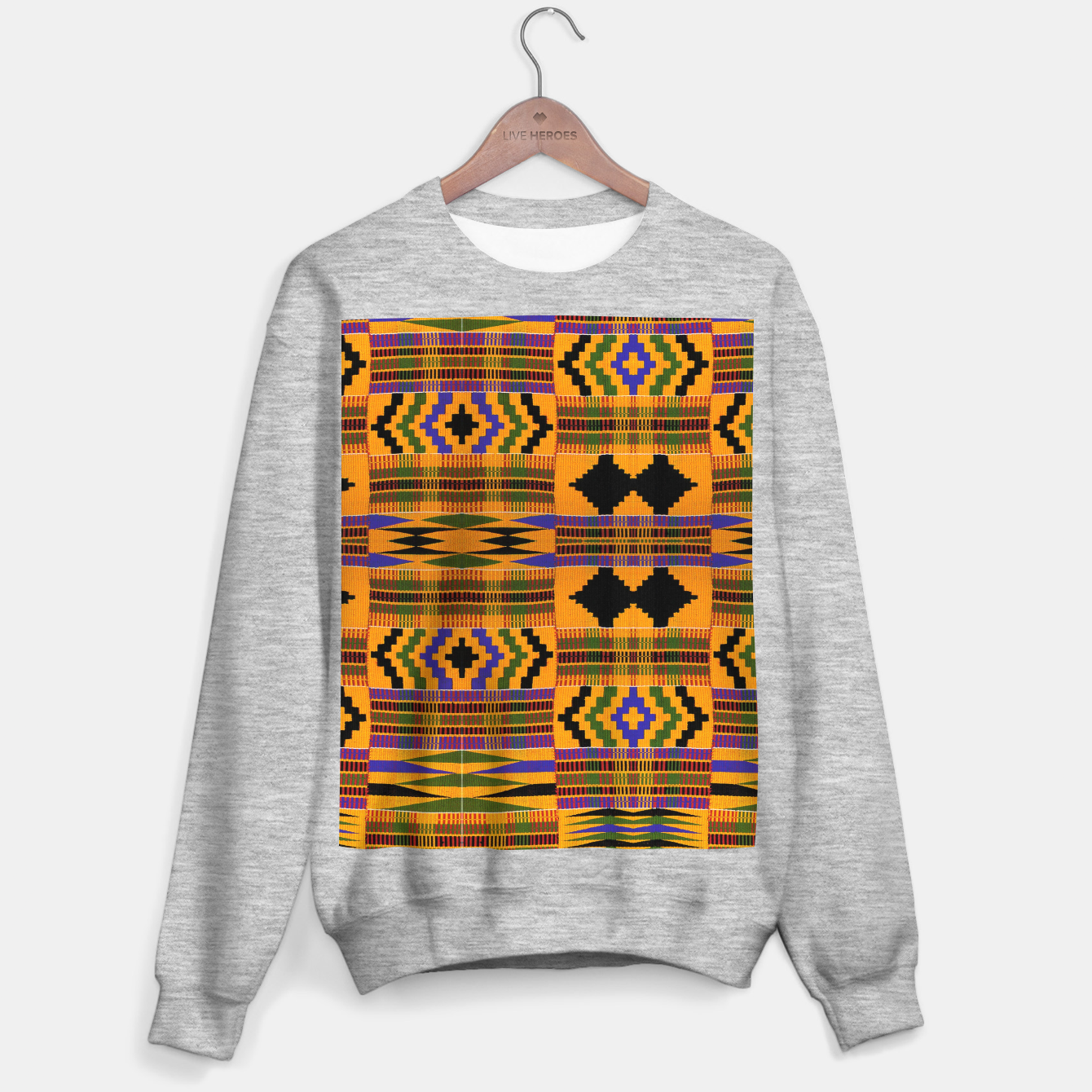 Foto KENTE PATTERN 8 Sweater regular - Live Heroes