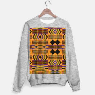 KENTE PATTERN 8 Sweater regular Bild der Miniatur