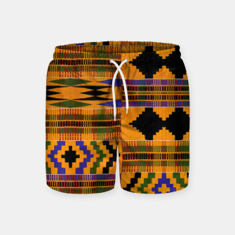 KENTE PATTERN 8 Swim Shorts Bild der Miniatur