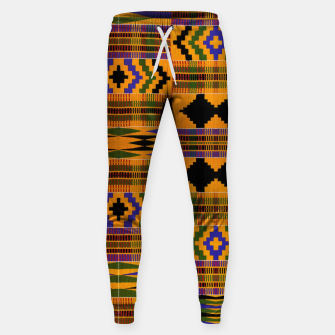 KENTE PATTERN 8 Sweatpants Bild der Miniatur