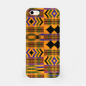 KENTE PATTERN 8 iPhone Case Bild der Miniatur