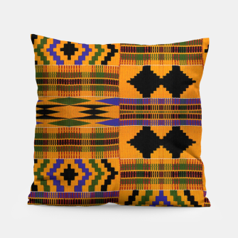 KENTE PATTERN 8 Pillow Bild der Miniatur