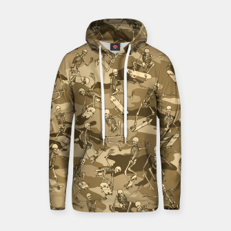 Thumbnail image of Grim Ripper Skater Camo DESERT Hoodie, Live Heroes