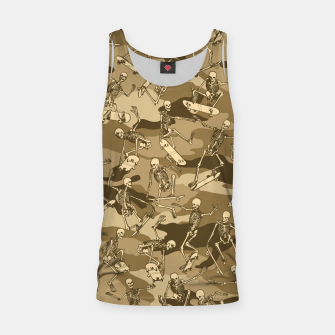 Thumbnail image of Grim Ripper Skater Camo DESERT Tank Top, Live Heroes