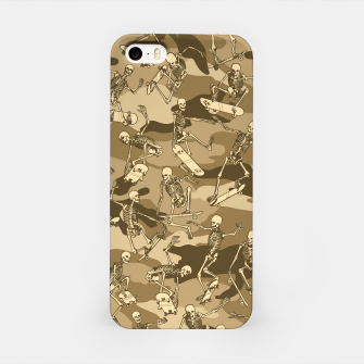 Thumbnail image of Grim Ripper Skater Camo DESERT iPhone Case, Live Heroes