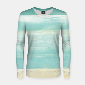 Watercolor Abstract Minimalism #1 #minimal #painting #decor #art  Frauen sweatshirt obraz miniatury
