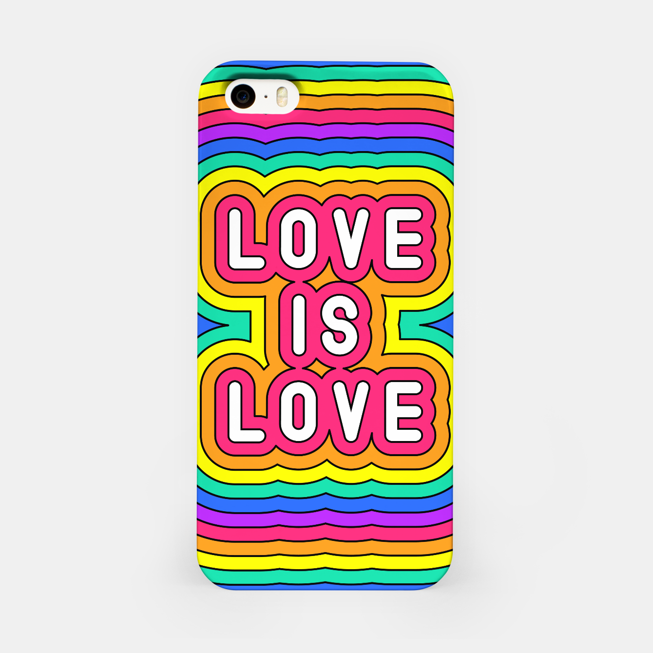 Foto Love is love iPhone Case - Live Heroes
