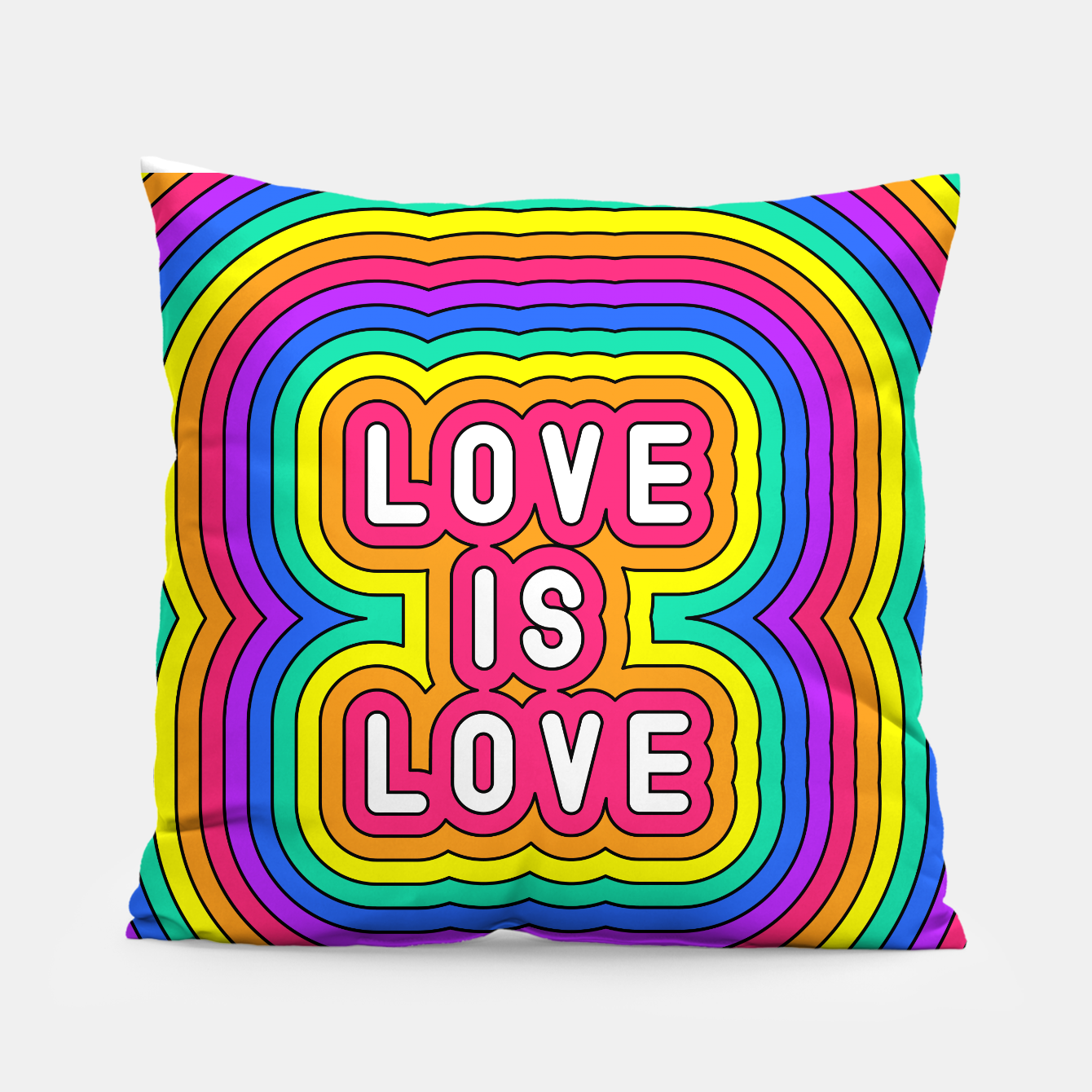 Foto Love is love Pillow - Live Heroes