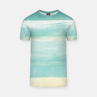 Watercolor Abstract Minimalism #1 #minimal #painting #decor #art  T-Shirt obraz miniatury