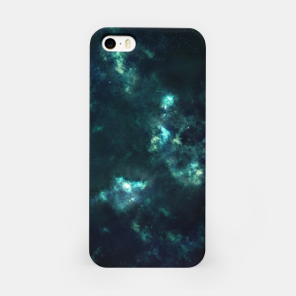 Thumbnail image of Green Galaxy iPhone Case, Live Heroes