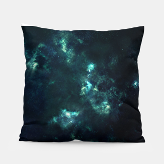 Thumbnail image of Green Galaxy Pillow, Live Heroes