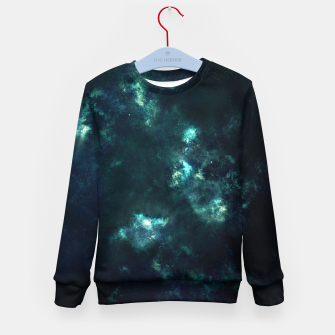 Thumbnail image of Green Galaxy Kid's sweater, Live Heroes