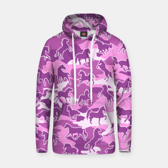Thumbnail image of Horse Camo PINK Hoodie, Live Heroes