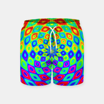 Thumbnail image of Colors of the Rainbow Swim Shorts, Live Heroes