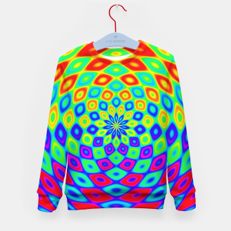 Thumbnail image of Colors of the Rainbow Kid's sweater, Live Heroes