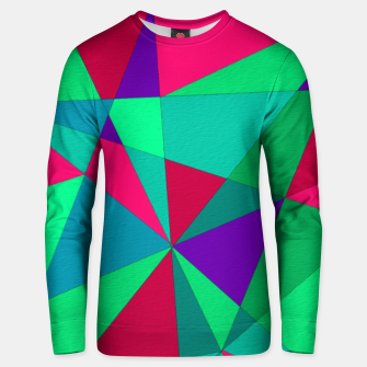 Thumbnail image of Abstract Triangle Unisex sweater, Live Heroes