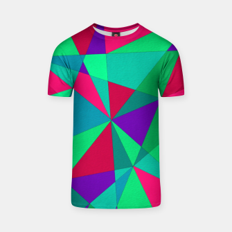 Thumbnail image of Abstract Triangle T-shirt, Live Heroes