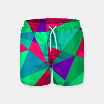 Thumbnail image of Abstract Triangle Swim Shorts, Live Heroes