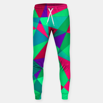 Thumbnail image of Abstract Triangle Sweatpants, Live Heroes