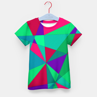 Thumbnail image of Abstract Triangle Kid's t-shirt, Live Heroes