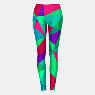 Thumbnail image of Abstract Triangle Leggings, Live Heroes