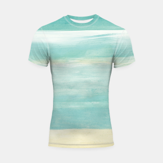 Watercolor Abstract Minimalism #1 #minimal #painting #decor #art  Shortsleeve rashguard obraz miniatury
