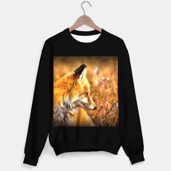 Thumbnail image of red fox acrylic four reacstd Sweater regular, Live Heroes