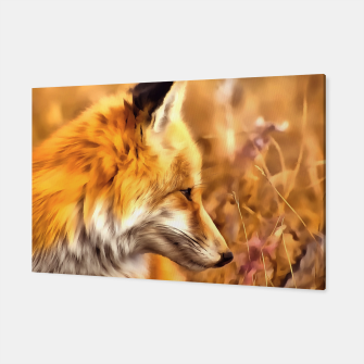 Thumbnail image of red fox acrylic four reacstd Canvas, Live Heroes