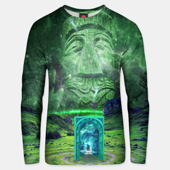Thumbnail image of Psychedelic Imagination Unisex sweater, Live Heroes
