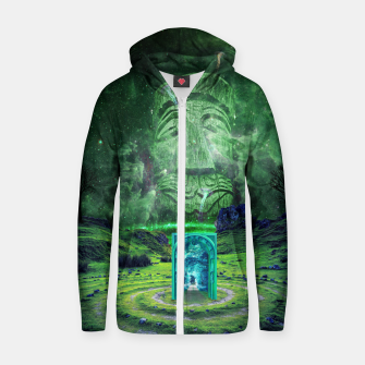 Thumbnail image of Psychedelic Imagination Zip up hoodie, Live Heroes