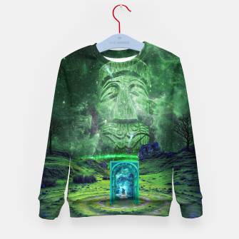 Thumbnail image of Psychedelic Imagination Kid's sweater, Live Heroes