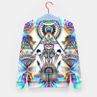 Thumbnail image of Ancient Civilization Kid's sweater, Live Heroes