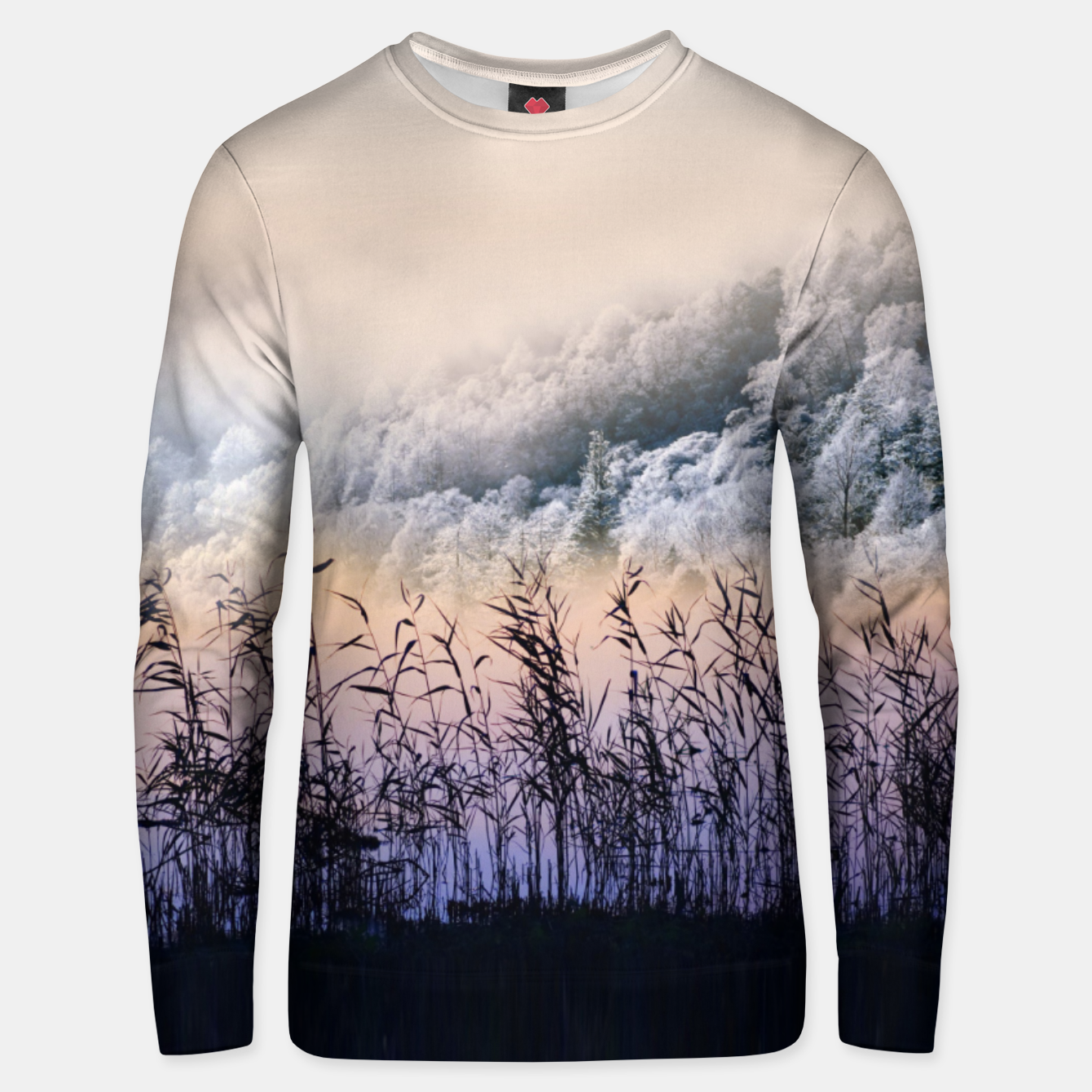 Image of  Far mountain Unisex sweater - Live Heroes