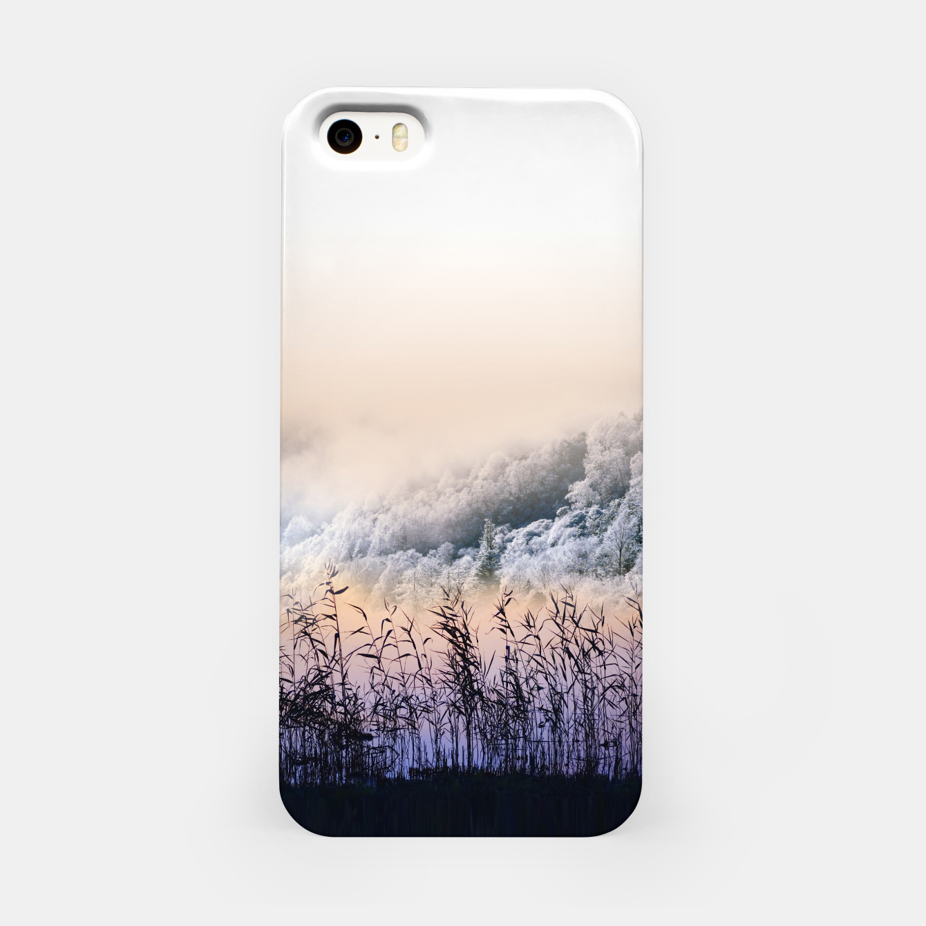Image of  Far mountain iPhone Case - Live Heroes