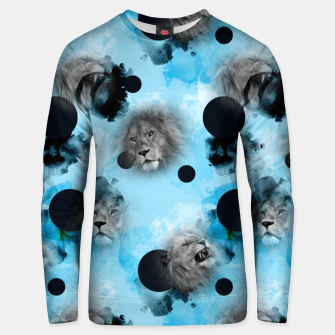 Thumbnail image of lions Unisex sweater, Live Heroes