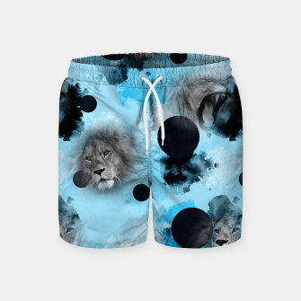 Thumbnail image of lions Swim Shorts, Live Heroes