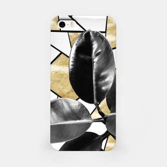 Miniaturka Ficus Elastica Geo #2 #tropical #foliage #decor #art  iPhone-Hülle, Live Heroes