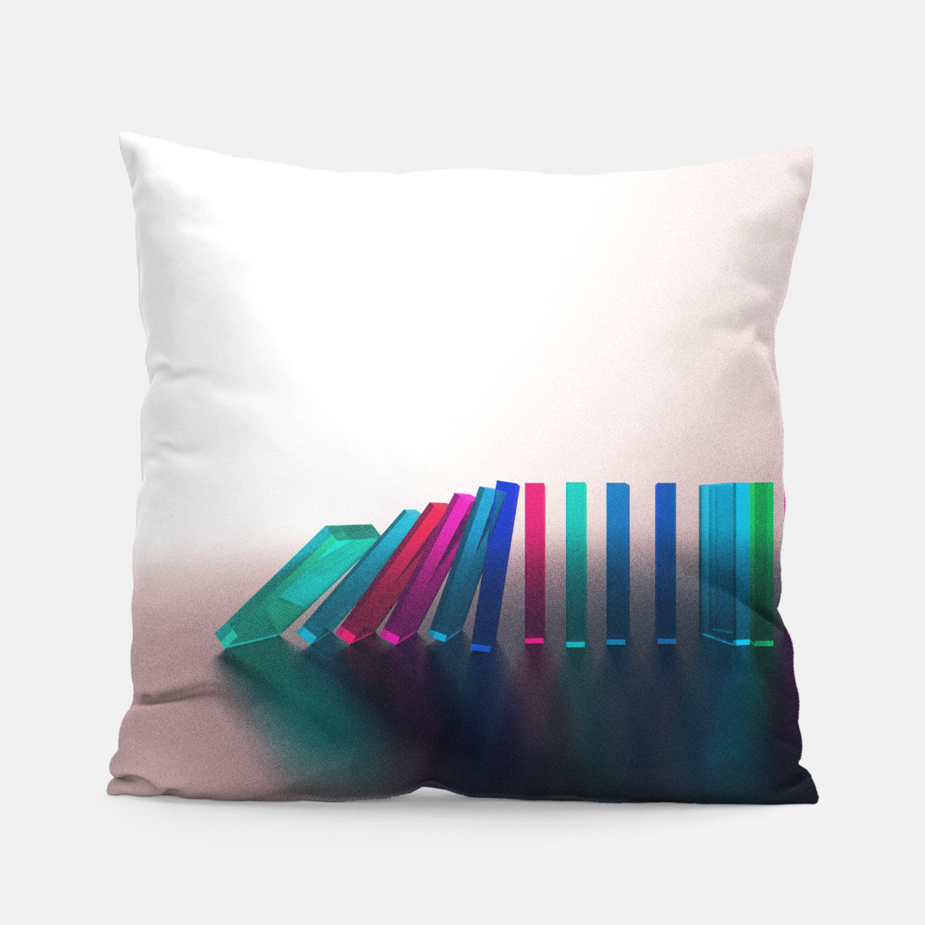 Image of Domino Effect 1 Pillow - Live Heroes