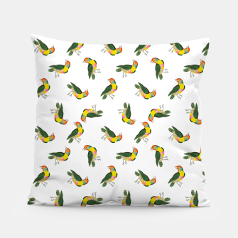 Thumbnail image of Beautiful  birds Pillow, Live Heroes
