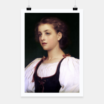 Thumbnail image of Biondina by Lord Frederic Leighton Poster, Live Heroes