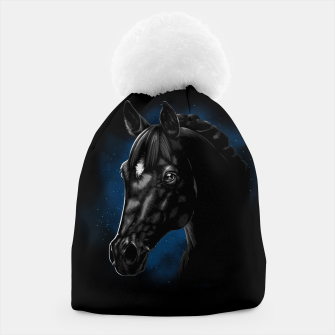 Beautiful Arabian horse Gorro Bild der Miniatur