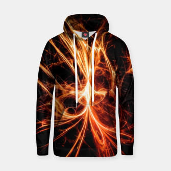 Thumbnail image of Abstract fire Hoodie, Live Heroes